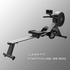 Гребной тренажер CLEAR FIT StartHouse RS 500 (36296) №1 | спортивный интернет-магазин DSPORT