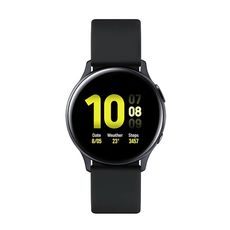 "Смарт-часы Samsung Galaxy Watch Active2 40мм 1.2"" Super AMOLED черный SM-R830NZKASER (40783) №1 