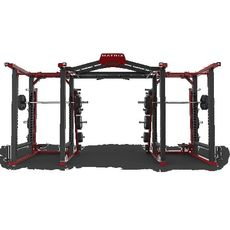 Силовая рама DOUBLE MEGA RACK MATRIX MAGNUM MR47x2 (4300) №1 | спортивный интернет-магазин DSPORT