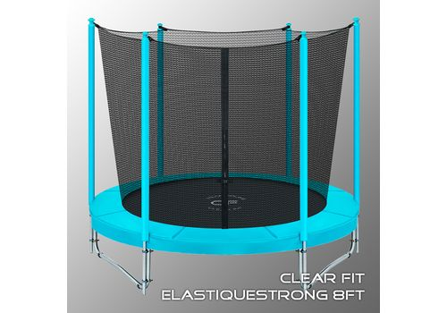 Батут CLEAR FIT ElastiqueStrong 8 ft (39227) №1 | спортивный интернет-магазин DSPORT