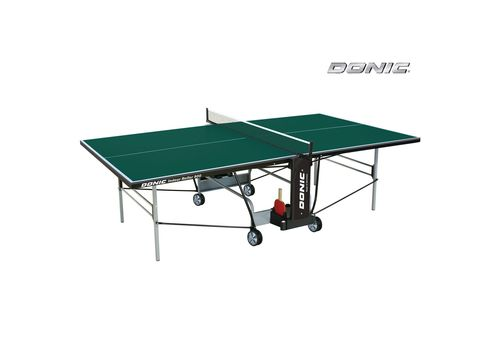Теннисный стол DONIC INDOOR ROLLER 800 GREEN (18154) №1 | спортивный интернет-магазин DSPORT