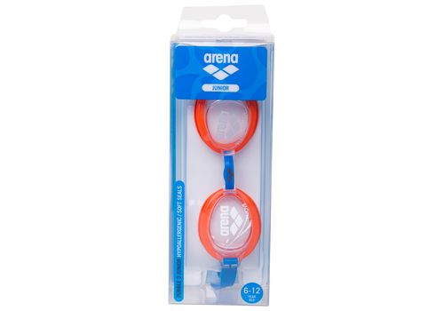 Очки Arena Bubble 3 Jr Clear/Mango/Blue 92395 74 (9091) №3 | спортивный интернет-магазин DSPORT