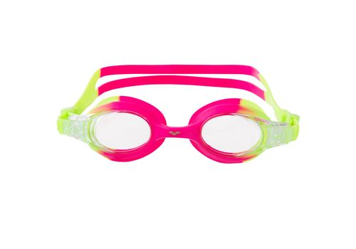 Очки Arena X-Lite Kids Green Pink/Clear 92377 96 (9124) №2 | спортивный интернет-магазин DSPORT